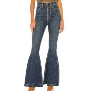 Free People Irreplaceable Flare Jeans Sz 25 & 27